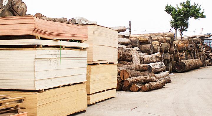 木材・金属等 資材の位置管理