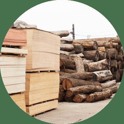 木材・金属等資材の位置管理
