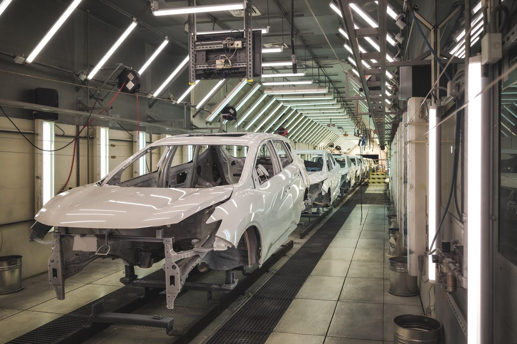 自動車製造工場イメージ
